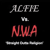 Alfie Vs NWA cover