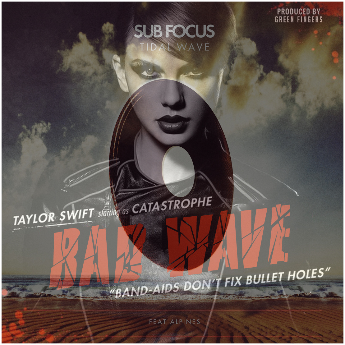 Taylor Swift vs Sub Focus cover